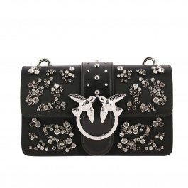 Crossbody bags Pinko MINI LOVE STRASS