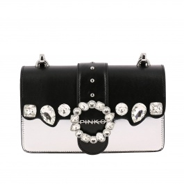 Crossbody bags Pinko MINI LOVE CRYSTAL