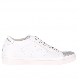 Sneakers Leather Crown W136