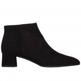 Flat ankle boots F.lli Rossetti 66442 PL533 SUEDE