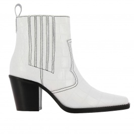 Heeled ankle boots Ganni S0886