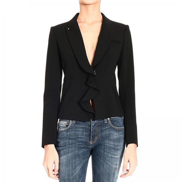 blazer f r damen pinko schwarz blazer pinko 11d7jh2076. Black Bedroom Furniture Sets. Home Design Ideas