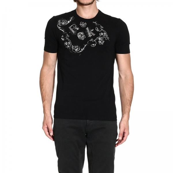 T-shirt Homme Versace Collection Noir   T-shirt Homme Versace ... 50a70627de8