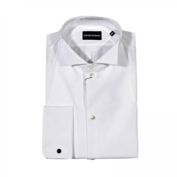 lowest price de408 2a66d Camicia Smoking Plastron Doppipolsi