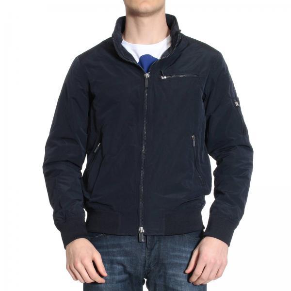 8a30650899a Veste Homme Armani Jeans Bleu