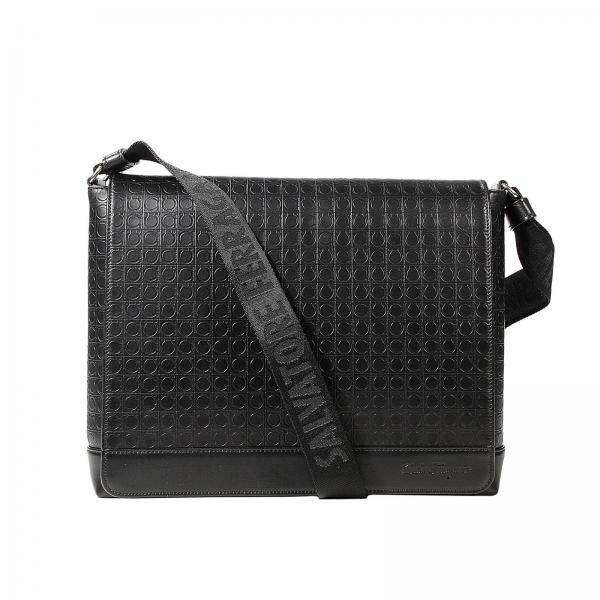 a014b5e081 Bags Men Salvatore Ferragamo Black