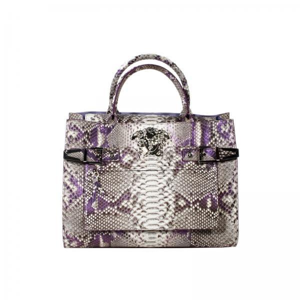 Shoulder bag Women Versace Grey  85be631360af3