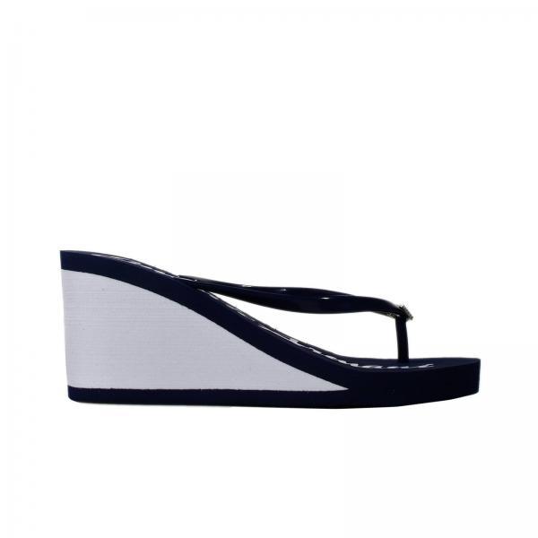 Scarpe Con Zeppa Donna Emporio Armani Swimwear Blue 17742121d9c