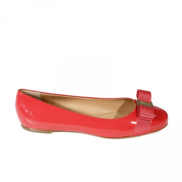 d1f2c575c Flat shoes Women Salvatore Ferragamo Coral | Varina Ballet Patent | Flat  Shoes Salvatore Ferragamo 548469 01a181 - Giglio UK
