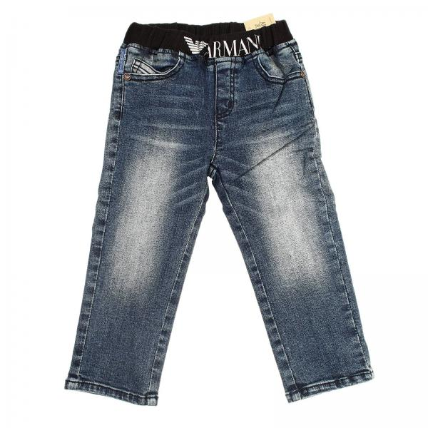 a basso costo 4ccbc 03de0 Jeans Denim Used Con Elastico In Vita
