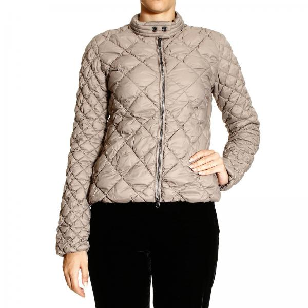 Armani Jeans Womens Jacket Down Jacket Light Quilted Giorgio