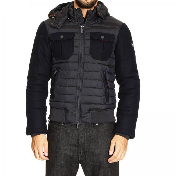 2ae9a576a987 Veste Homme Armani Jeans Bleu   Blouson Pour Homme Armani Jeans ...