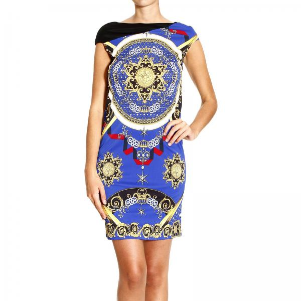 9a255afc Dress Long Sleeve In Jersey With Barocco Print