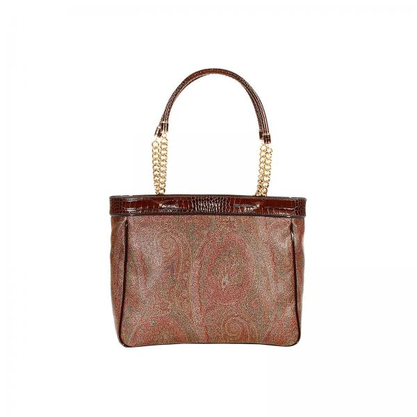 new concept 169da 9f7c7 Shoulder Bag Arnica Shopping In Leather With Paisley And Chain Print