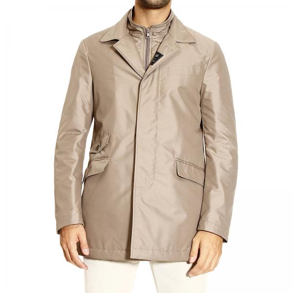 Coat Uomo Urban Impermeabile Fay Giacca Nylon Double Technical wIqTnfAS