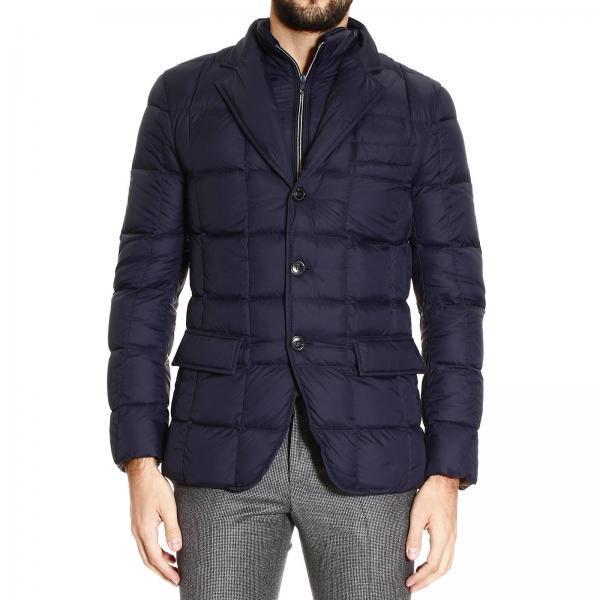 new product a228d f5e88 urban nylon giacca piumino light double front