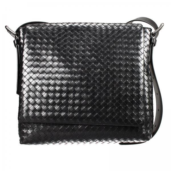 Bottega Veneta Men S Bags Bag Braided Shoulder With Flap Small