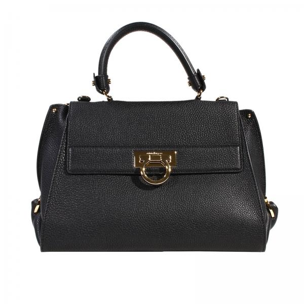 5a7ae41e8bd2 Salvatore Ferragamo Women s Black Shoulder Bag