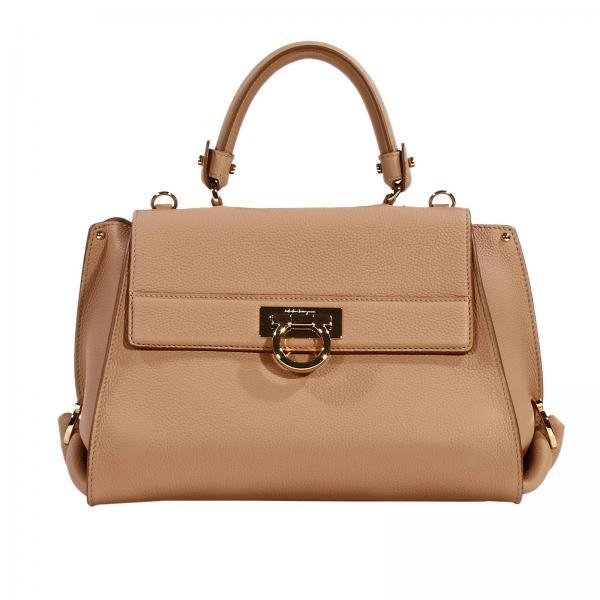 2f73c411742b Salvatore Ferragamo Women s Beige Shoulder Bag