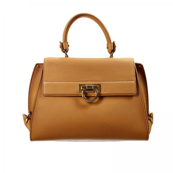 Salvatore Ferragamo Women s Leather Shoulder Bag  00d3dc9ef8e96