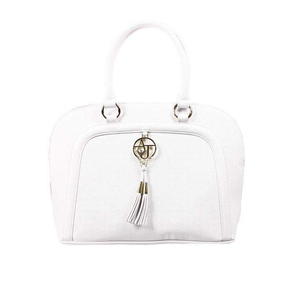 Shoulder Bag Women Armani Jeans White abee45bfdfc70