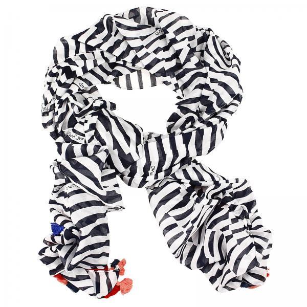 armani jeans womens neck scarf foulard 190x90 kefia