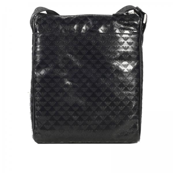 tasche f r herren emporio armani schwarz tasche giorgio. Black Bedroom Furniture Sets. Home Design Ideas