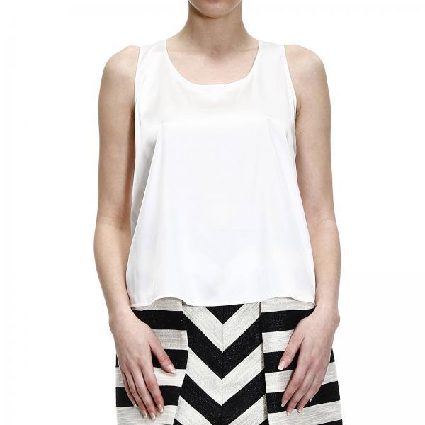huge discount 4af9a cca64 Top Sleeveless Silk