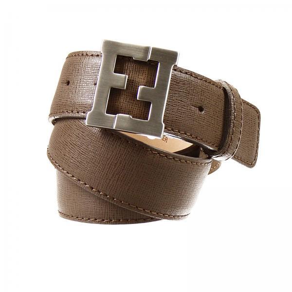 vendita calda online 7d18f f641b Cintura Fibbia Logo Pelle