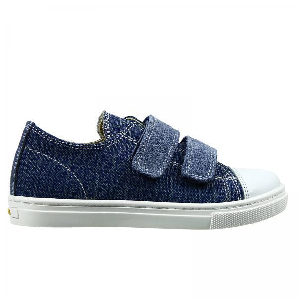 fendi boy s blue shoes shoes tennis with velcro