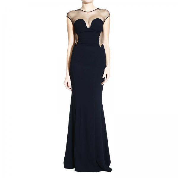Abito donna pinko nero specchio sable abito pinko for Specchio woman abbigliamento
