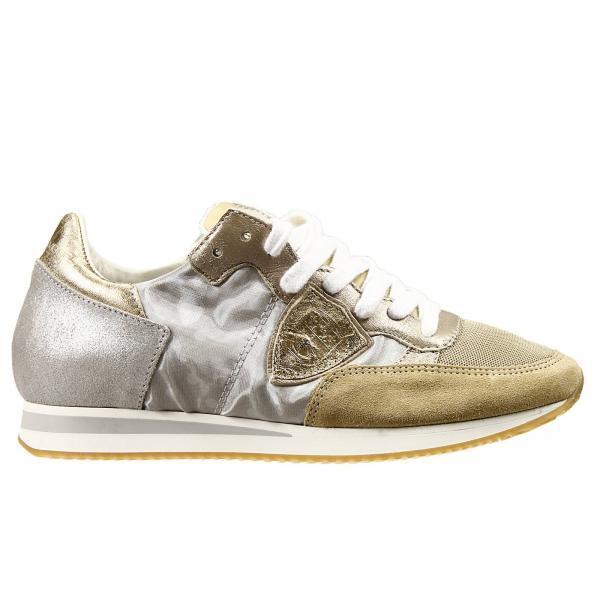 sneakers f r damen philippe model beige sneakers philippe model trld mt06 giglio de. Black Bedroom Furniture Sets. Home Design Ideas