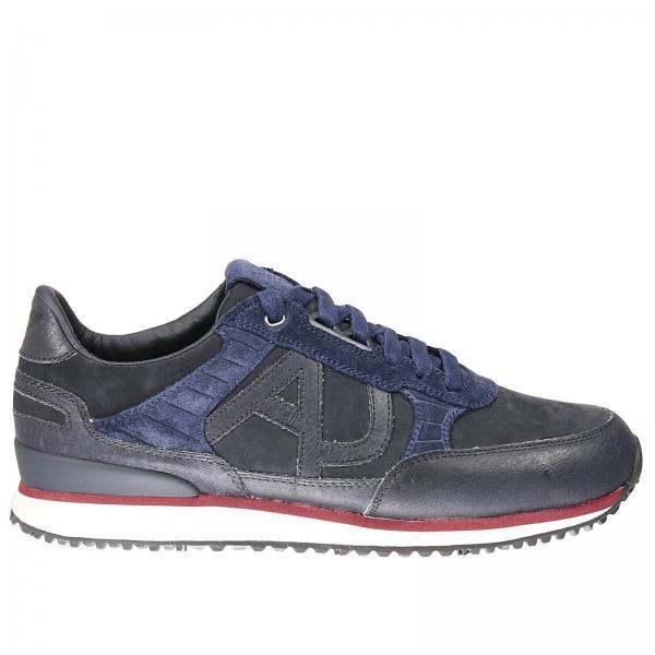 Hombre Jeans BlueB6512 Hombre BlueB6512 Armani Jeans Zapatillas Armani Zapatillas VpqSUzM