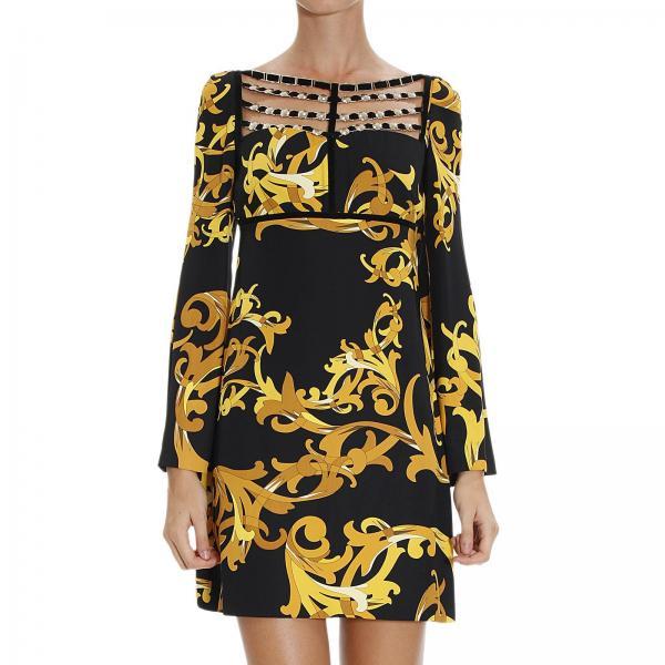 Robes Femme Versace Collection Noir   Robe Pour Femme Versace ... da70484a6f9