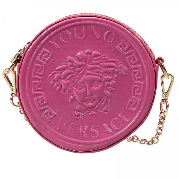 4f5b48dbaeff Bag little boy Versace Young Fuchsia