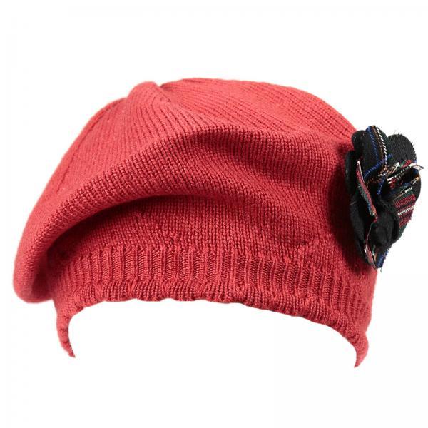 Cappello bimba bambino Dolce   Gabbana Rosso  12bc136c1d39