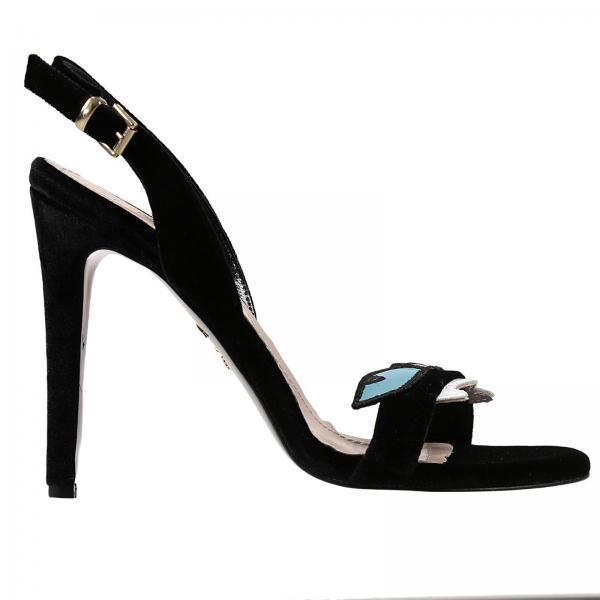 Chaussures à talons Femme Chiara Ferragni Noir Noir Noir Escarpins Pour c7f097