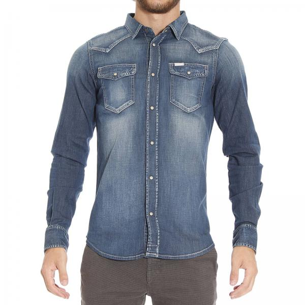 new product 873ed 2156a Camicia New Sonora Denim Texana Stretch