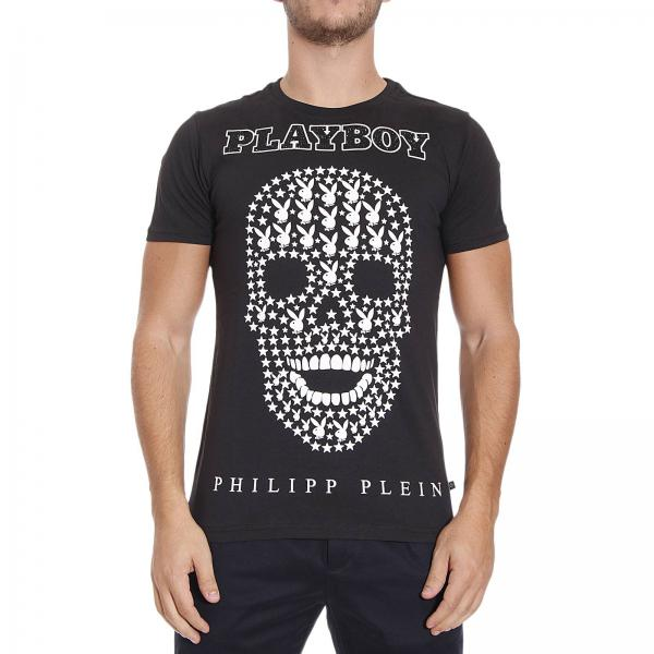camiseta hombre philipp plein negro camiseta philipp plein hm347444 giglio es. Black Bedroom Furniture Sets. Home Design Ideas