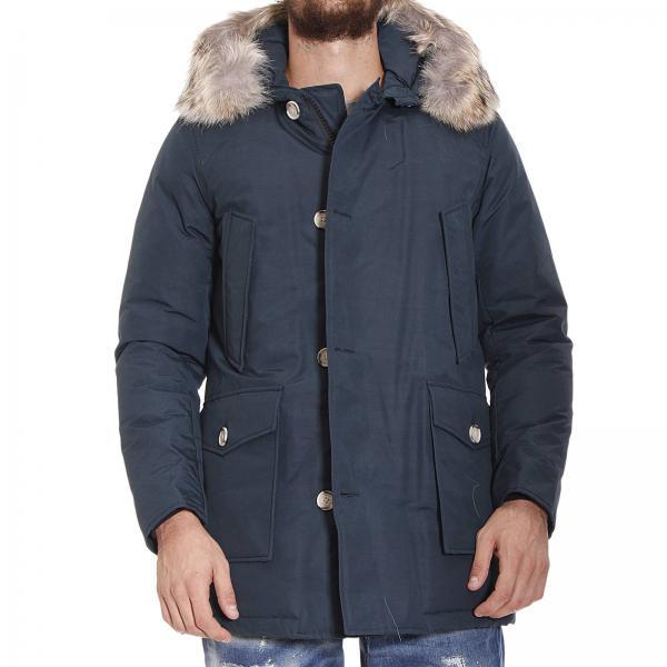 Giacca Arctic Parka Nylon Con Cappuccio Pelliccia 6b18ef42d9a