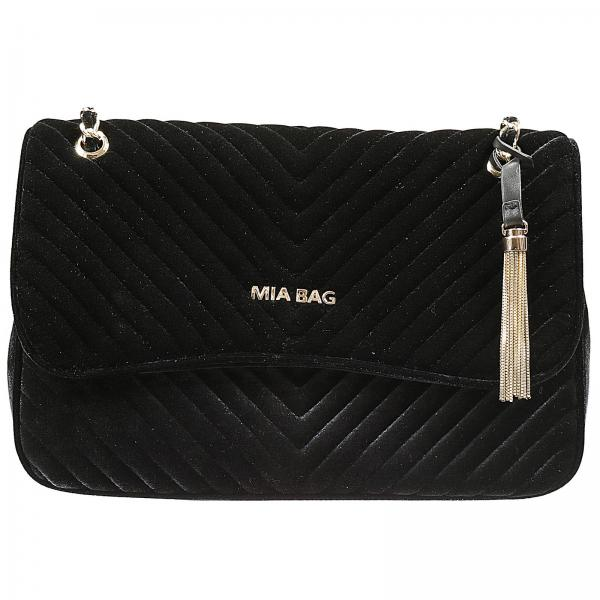 Mia Bag Women S Black Shoulder 15418 Giglio En
