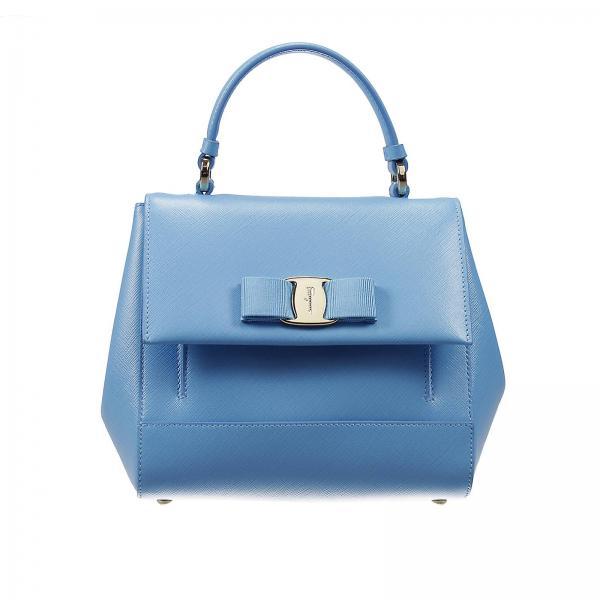 Мужские сумки salvatore ferragamo синего цвета