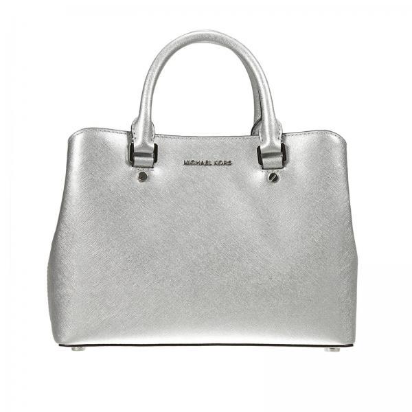 Shoulder Bag Women Michael Kors Silver