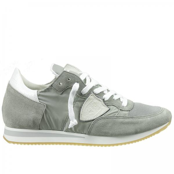 sneakers f r herren philippe model grau sneakers philippe model trlu wx09 giglio de. Black Bedroom Furniture Sets. Home Design Ideas