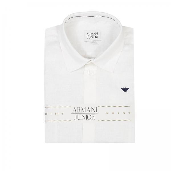 online retailer 19f73 0ea01 Camicia Lino Con Logo