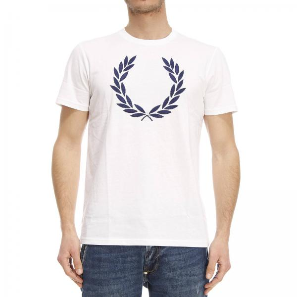 t shirt f r herren fred perry wei t shirt fred perry. Black Bedroom Furniture Sets. Home Design Ideas