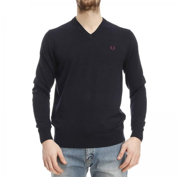 pullover f r herren fred perry pullover fred perry k8260. Black Bedroom Furniture Sets. Home Design Ideas