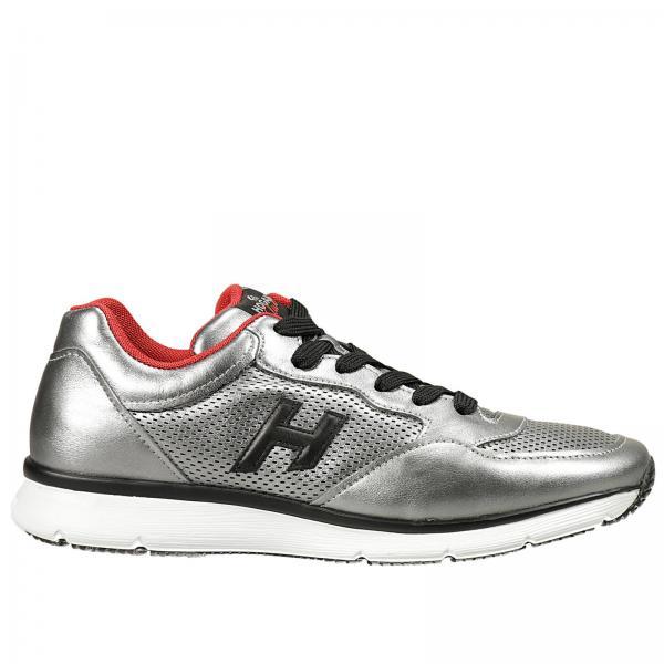 Sneakers Uomo Hogan Club Argento  3739bfb76d3