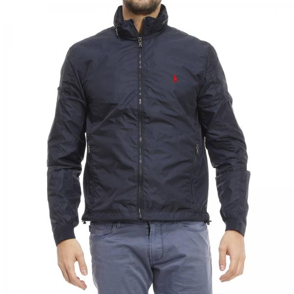 Jacket Men Polo Ralph Lauren Blue d1758252c