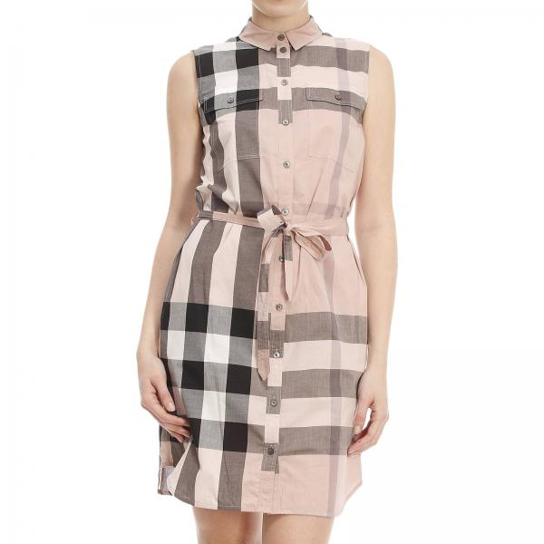 Burberry Women S Pink Dress Burberry Dress 4015076 Aaluf Giglio En